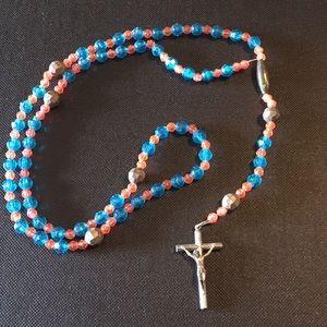 Vintage Italy beaded Rosary